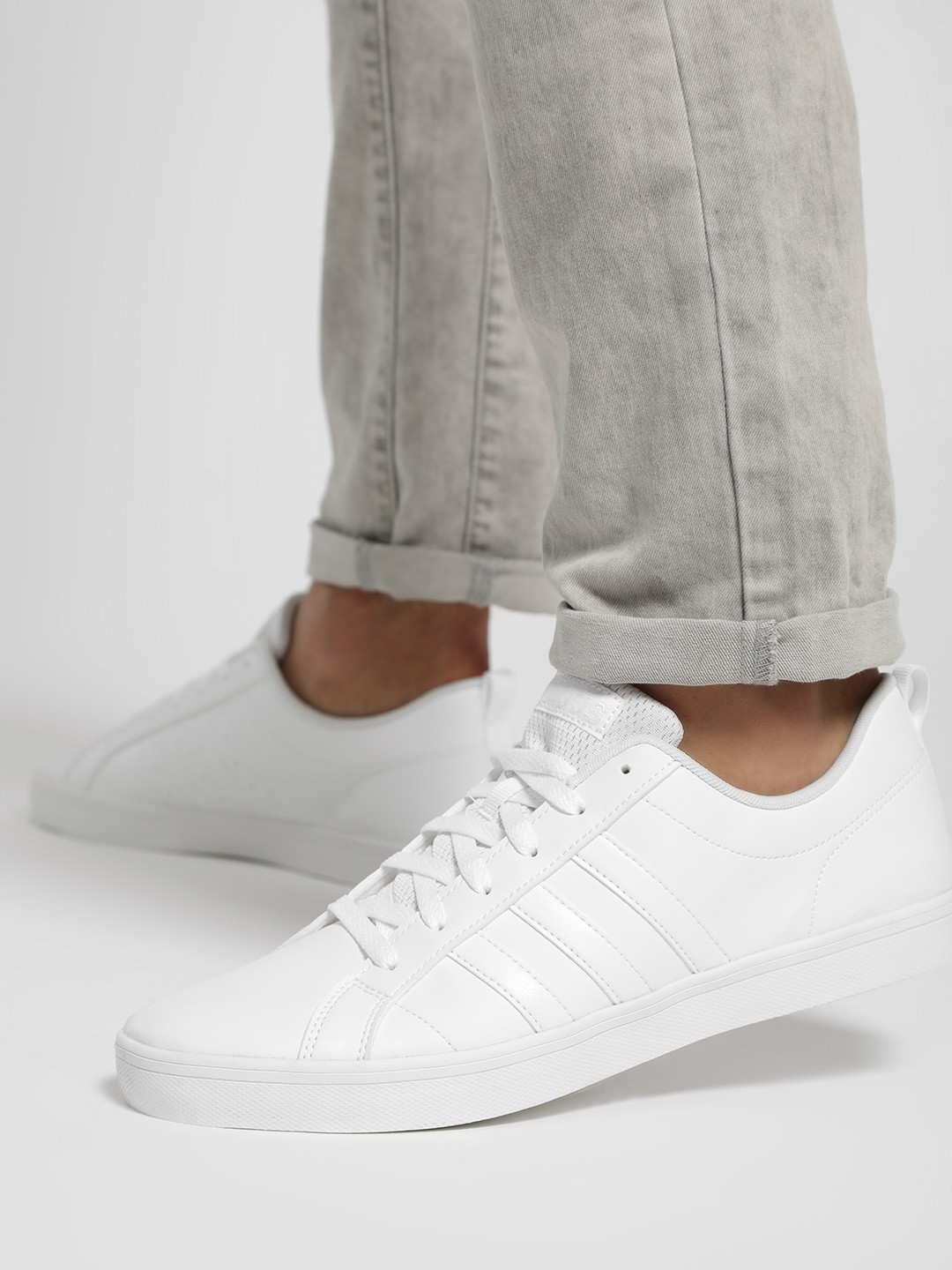 Adidas White Vs Pace Shoes 1