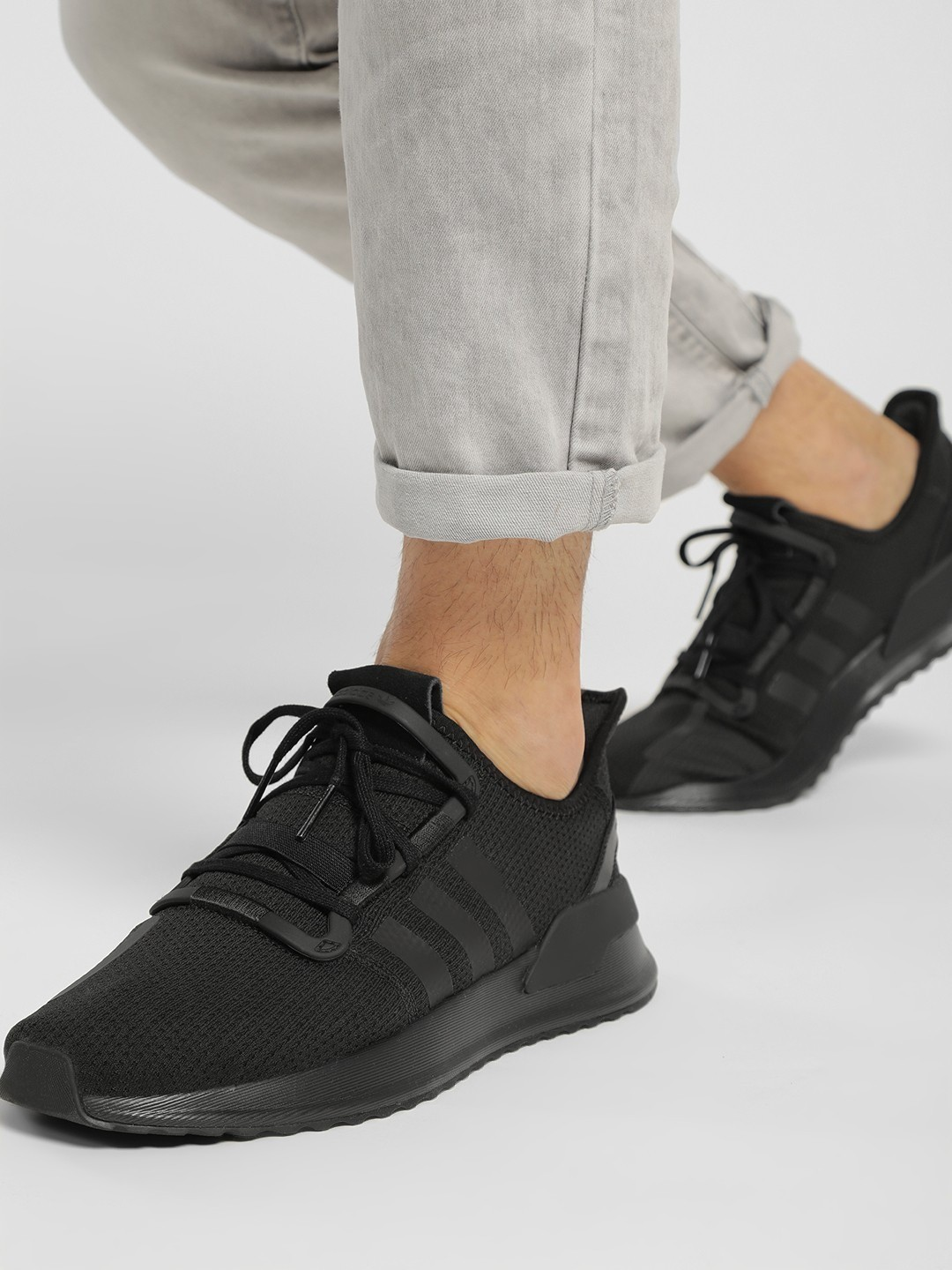 Adidas Originals Black U_Path Running Shoes 1