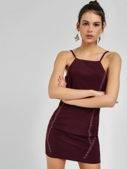 Ax Paris Studded Cami Bodycon Dress