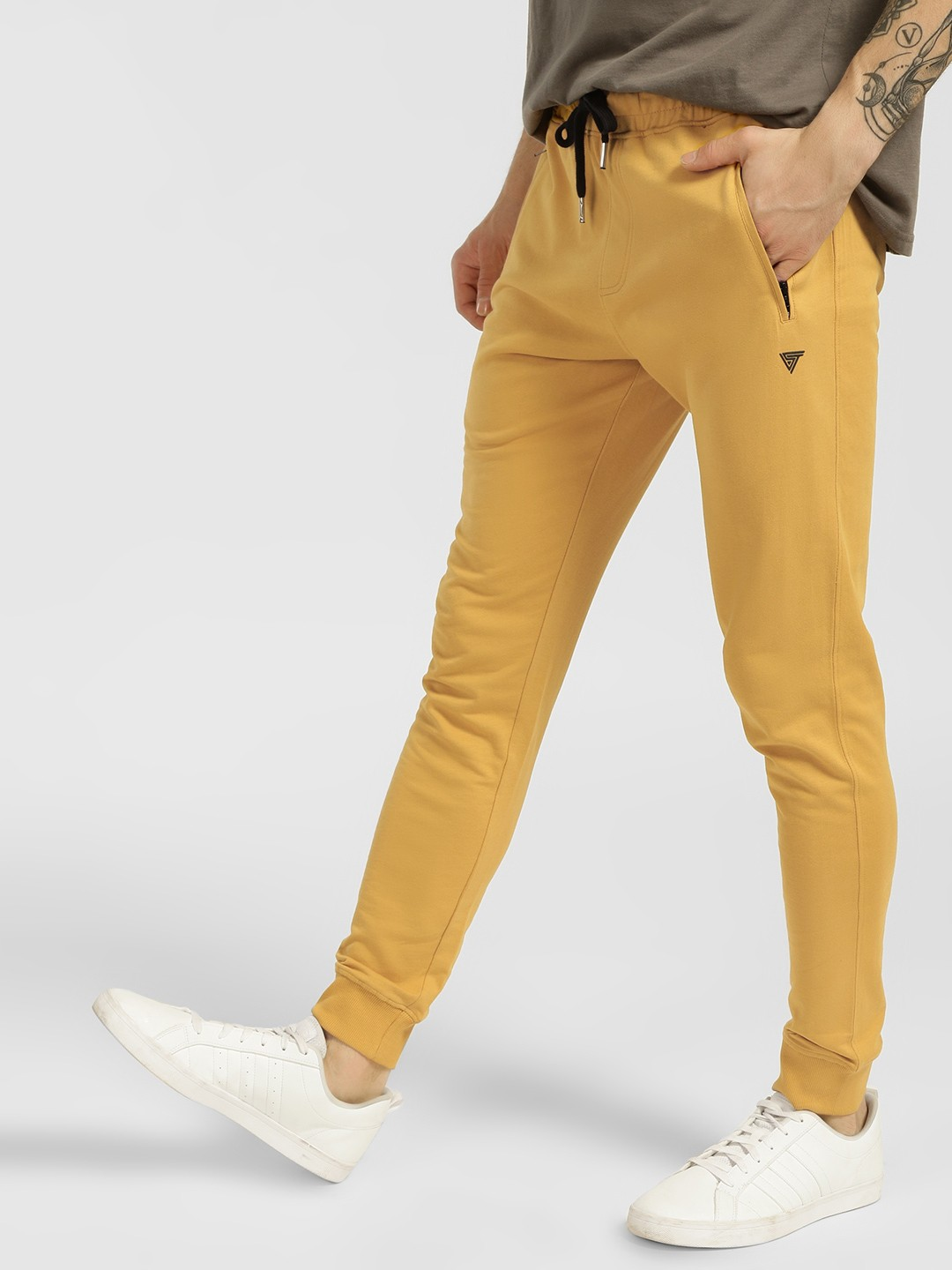 Blue Saint Gold Basic Slim Fit Joggers 1