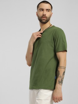 Blue Saint Basic Raw Edge T-Shirt