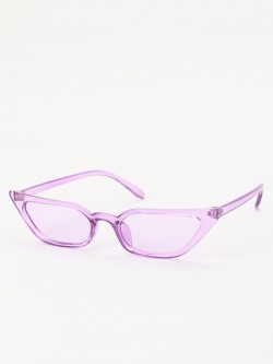Sneak-a-Peek Sleek Cateye Sunglasses