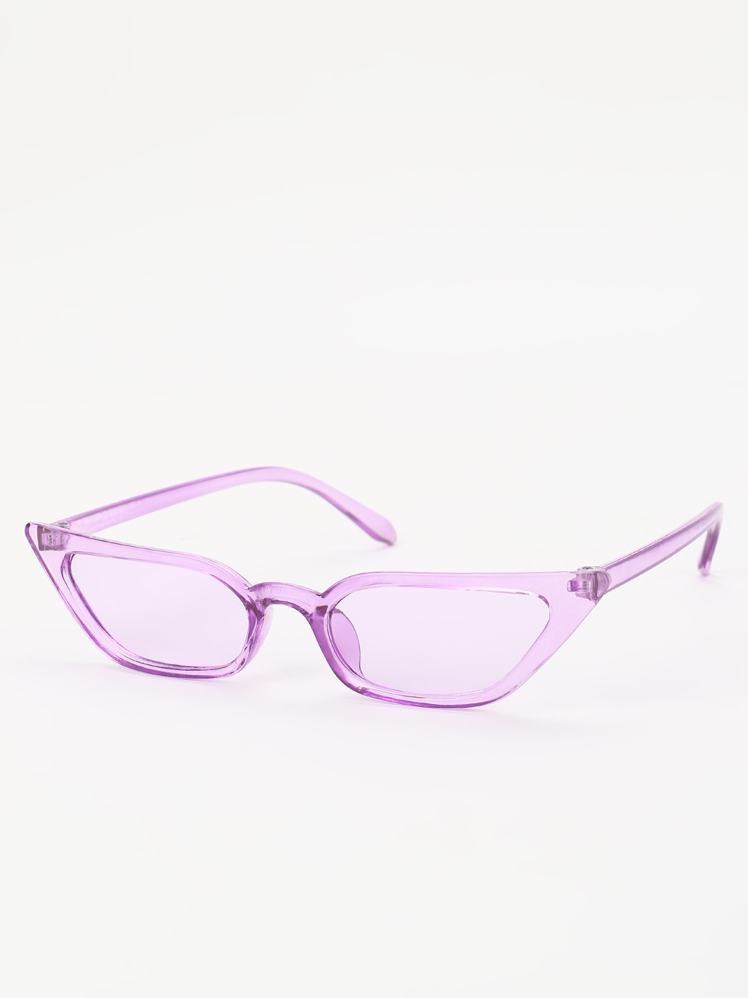 Sneak-a-Peek Purple Sleek Cateye Sunglasses 1