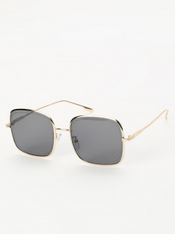 Sneak-a-Peek Square Frame Classic Sunglasses