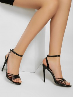 Sole Story Double Back Strap Heeled Sandals