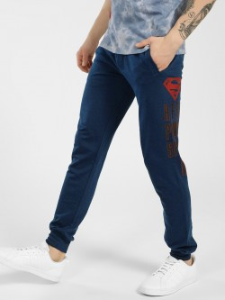 Free Authority Superman Text Logo Print Joggers
