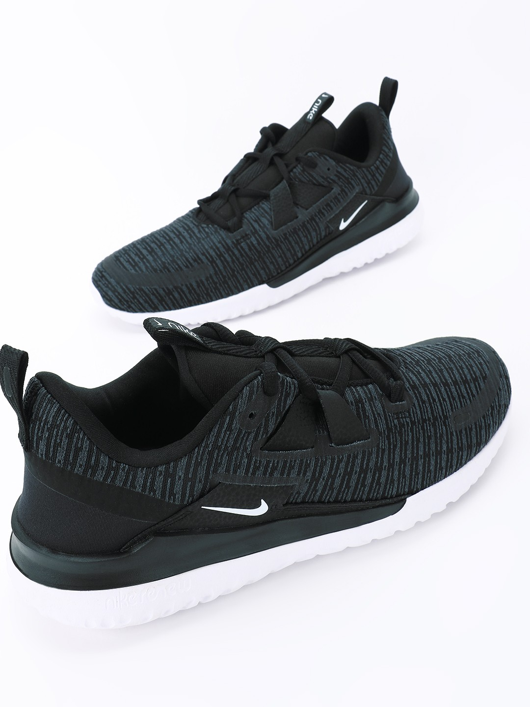 Nike Black Renew Arena Shoes 1