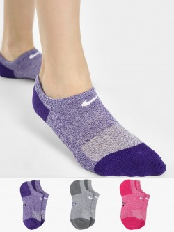 Nike Everyday Cushioned No-Show Training Socks (Pack Of 3)