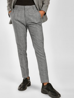 KOOVS Multi-Check Formal Trousers