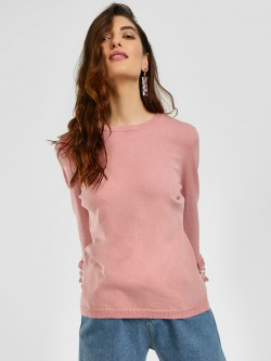Cover Story Ruffle Tier Sleeve Pullover