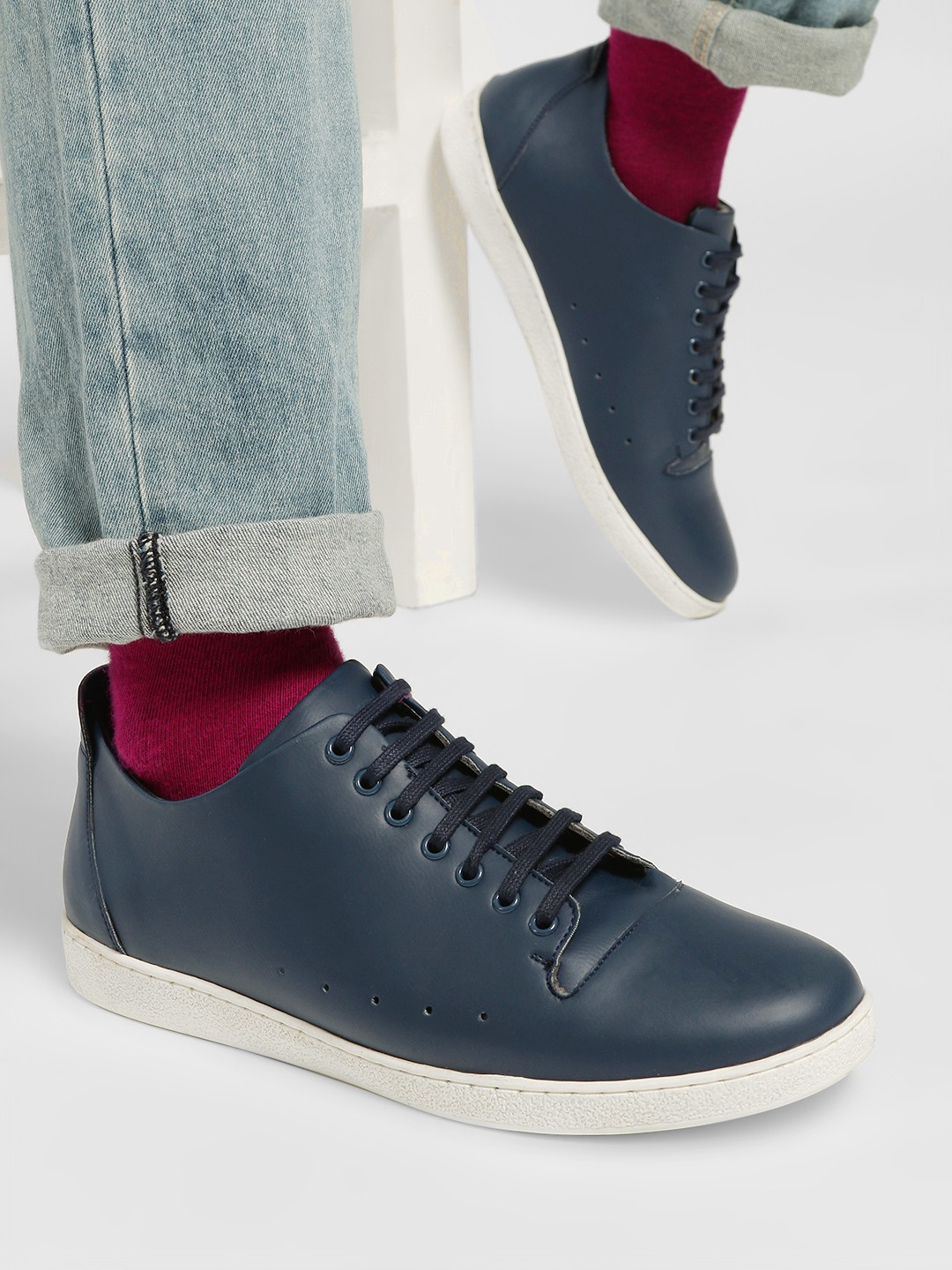 Kindred Blue Side Punches Sneakers 1