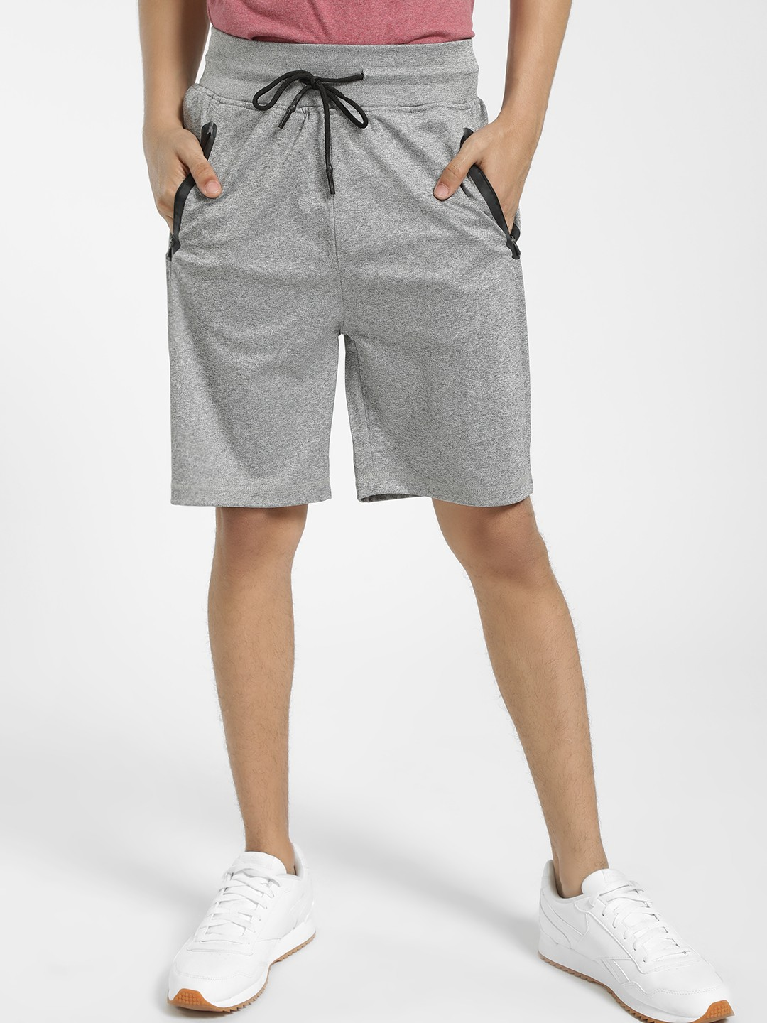 SKULT By Shahid Kapoor Grey Knitted Shorts 1