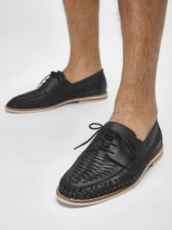 Bolt Of The Good Stuff Woven Formal Shoes