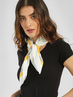 Only Text Print Statement Scarf