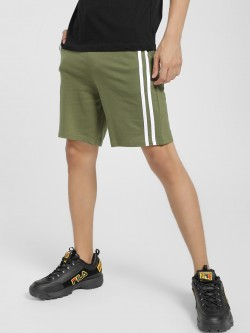 Garcon Contrast Side Tape Shorts