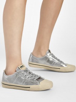 BRITISH KNIGHTS Metallic Detail Sneakers