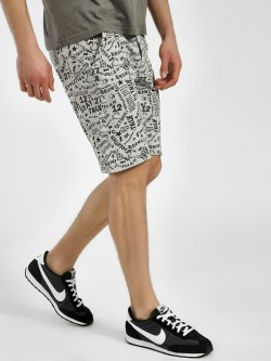 Being Human All Over Scribble Print Shorts
