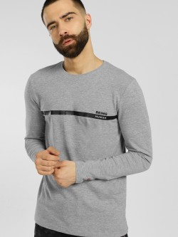 Being Human Melange Long Sleeve T-Shirt