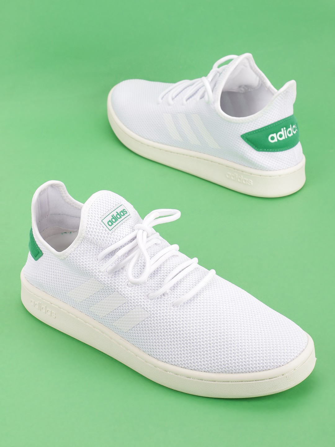 Adidas White Court Adapt Casual Shoes 1