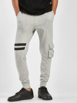 SKULT By Shahid Kapoor Twin Tape Detail Cargo Joggers