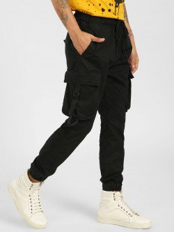 SKULT By Shahid Kapoor Cropped Patch Pocket Joggers
