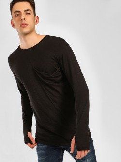 SKULT By Shahid Kapoor Patch Pocket Thumbhole T-Shirt