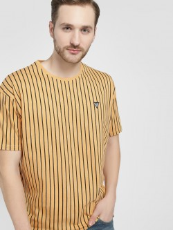 Styx & Stones Vertical Stripe Oversized T-Shirt