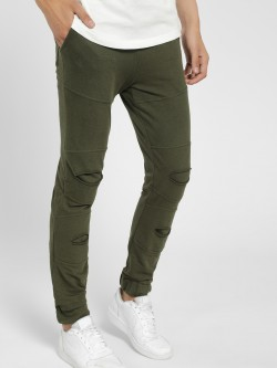 Styx & Stones Distressed Panelled Joggers