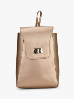 Gusto Structured Metallic Backpack
