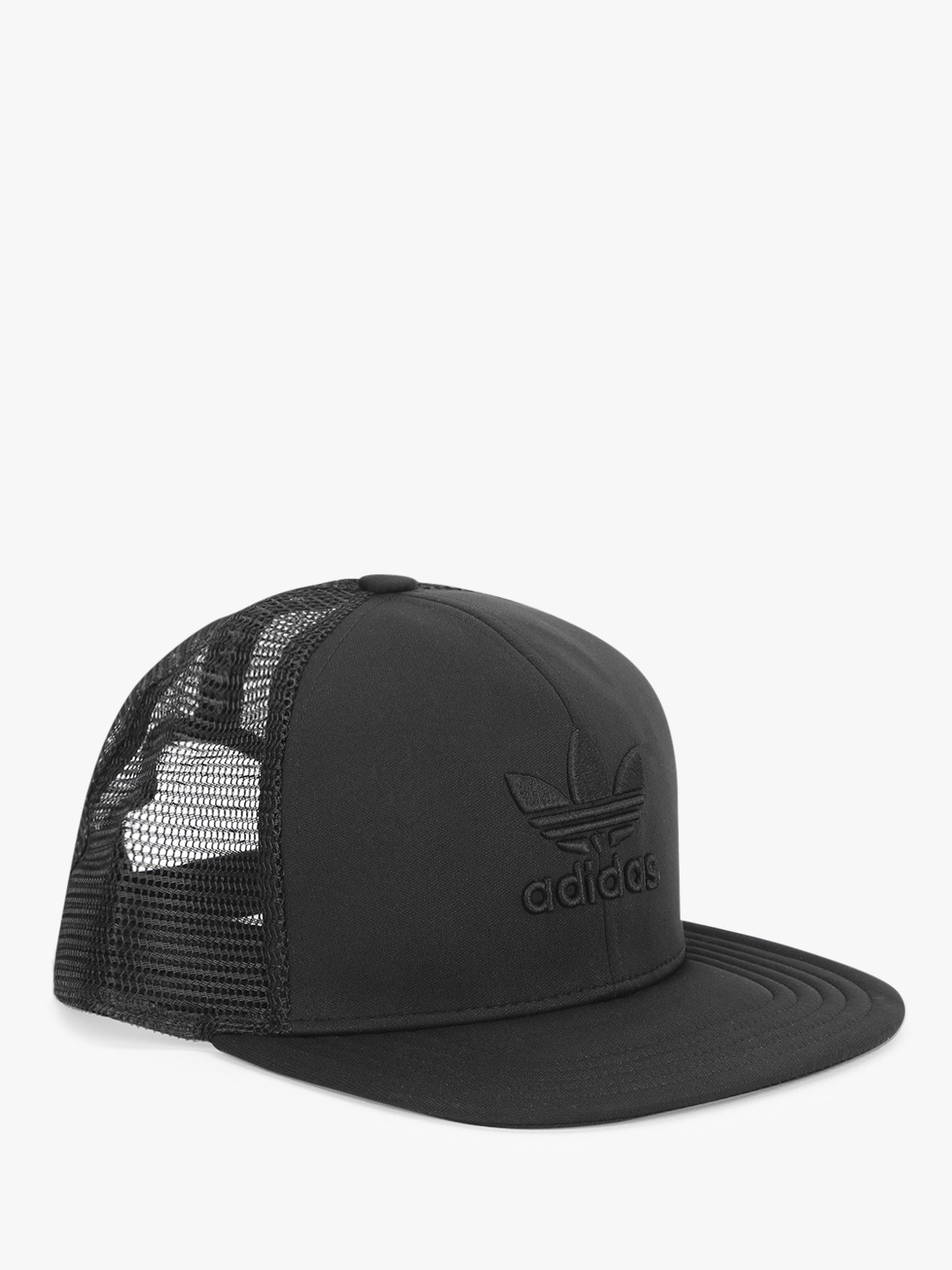 buying new outlet store new products Buy Adidas Originals Black Trefoil Heritage Trucker Cap for ...