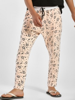 Fighting Fame Paisley Print Joggers