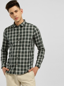 SCULLERS Tartan Check Casual Shirt