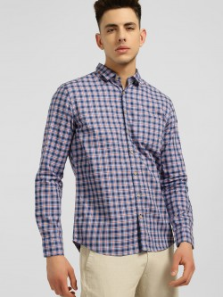 SCULLERS Madras Check Casual Shirt