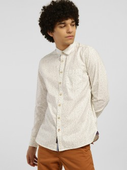 SCULLERS Neo Nautical Print Casual Shirt