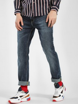 Celio Dark Wash Slim Fit Jeans