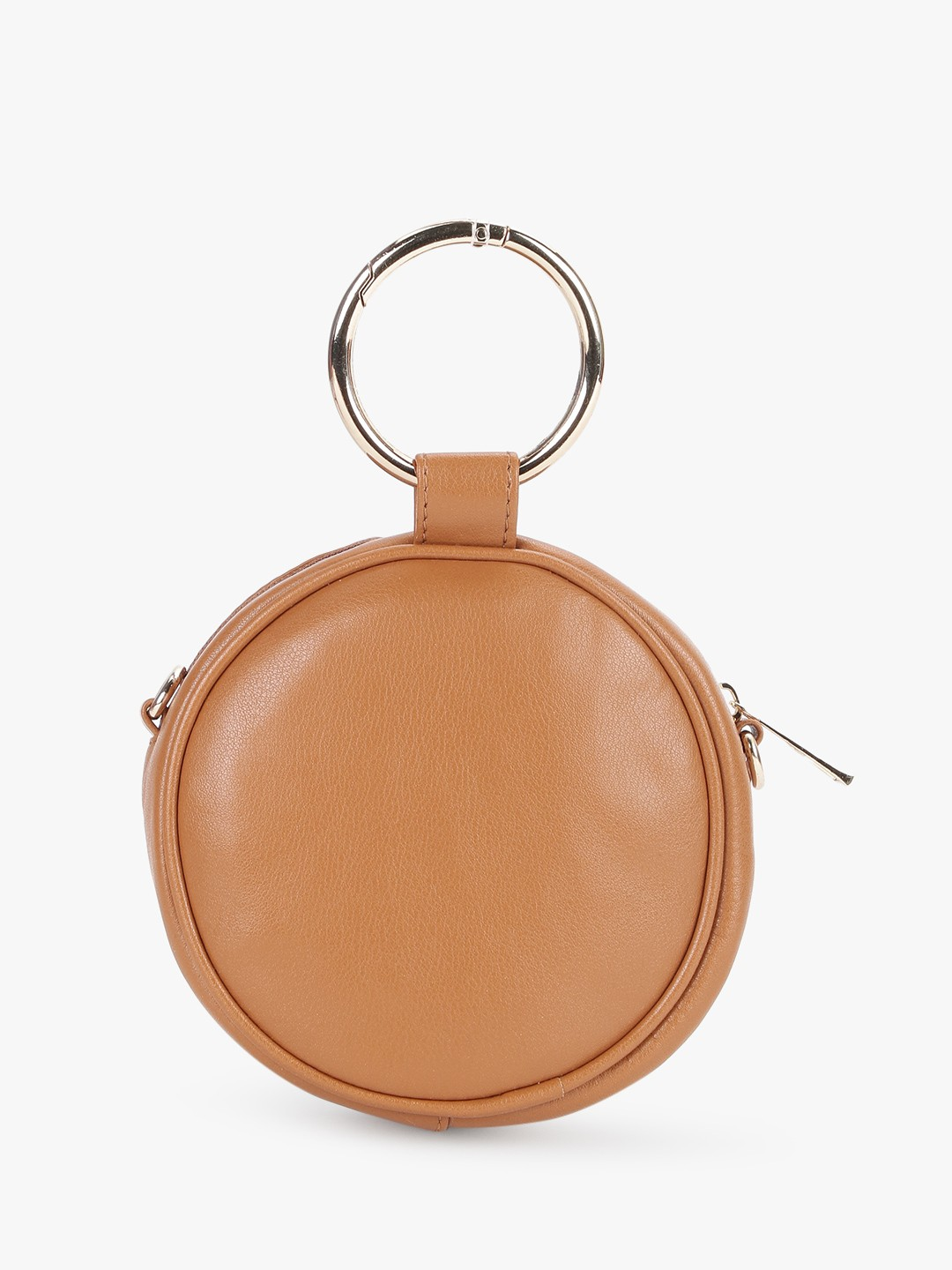 Paris Belle Brown O-Ring Concentric Sling Bag 1