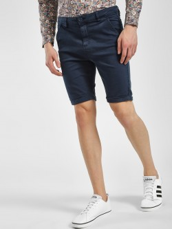 Blue Saint Basic Slim Fit Shorts