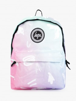 Hype Rainbow Scribble Backpack