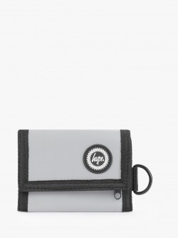Hype Reflective Embossed Logo Trifold Wallet