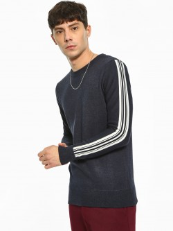 Akiva Contrast Side Tape Pullover