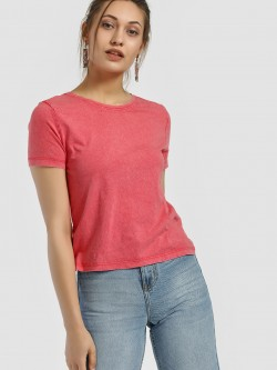 Only Washed Crop T-Shirt