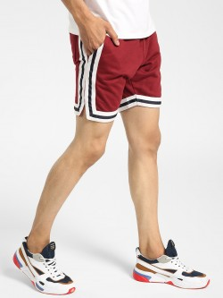 D-Struct Contrast Tape Baseball Shorts