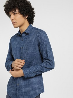 Indigo Nation All Over Print Formal Shirt