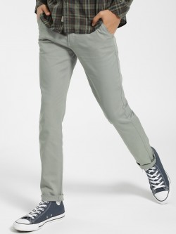 Indigo Nation Overdyed Slim Fit Trousers