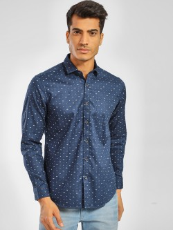 Indigo Nation Long Sleeve Printed Shirt