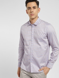 SCULLERS Long Sleeve Striped Shirt