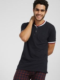 SCULLERS Pique Baseball Collar Polo Shirt