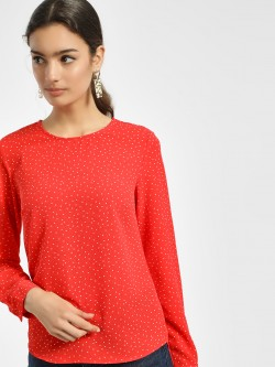 New Look Polka Dot Print Blouse