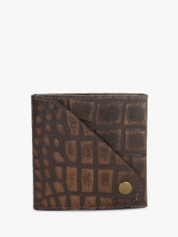 STRUTT Crocskin Detail Wallet
