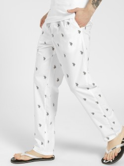 US. Polo. Assn. All Over Logo Print Lounge Pants